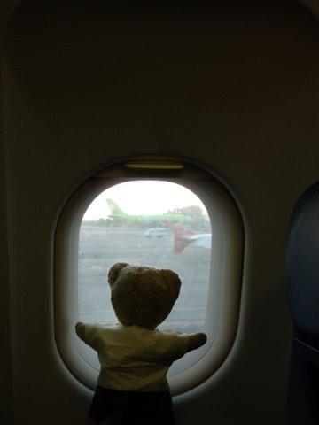 départ avion