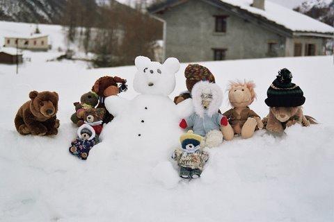 ours de neige