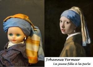 Jacqueline à la perle