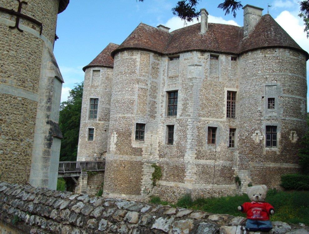Chateau de dos